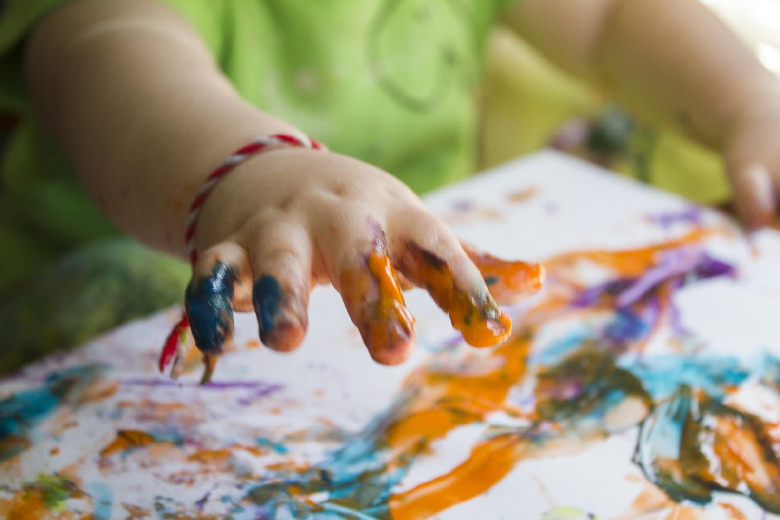 Finger Painting Art