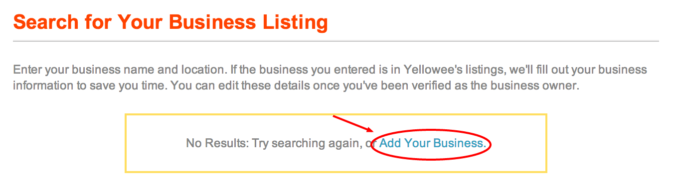 add your listing alert