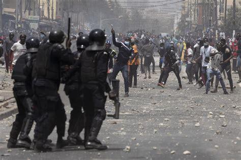 Masseprotester Senegal 2021 5