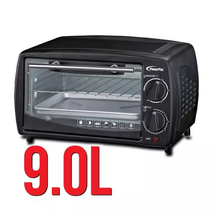 PowerPac Electric Oven is 13 Best Ovens In Singapore 2021 2022 2023 Compact & Multifunctional for home use, 13 Best Ovens in Singapore: Buying Guide for this year,