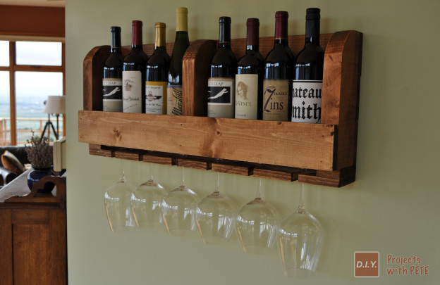 Wine Rack: These 50 Woodworking Projects That Sell Online will help you make some money.