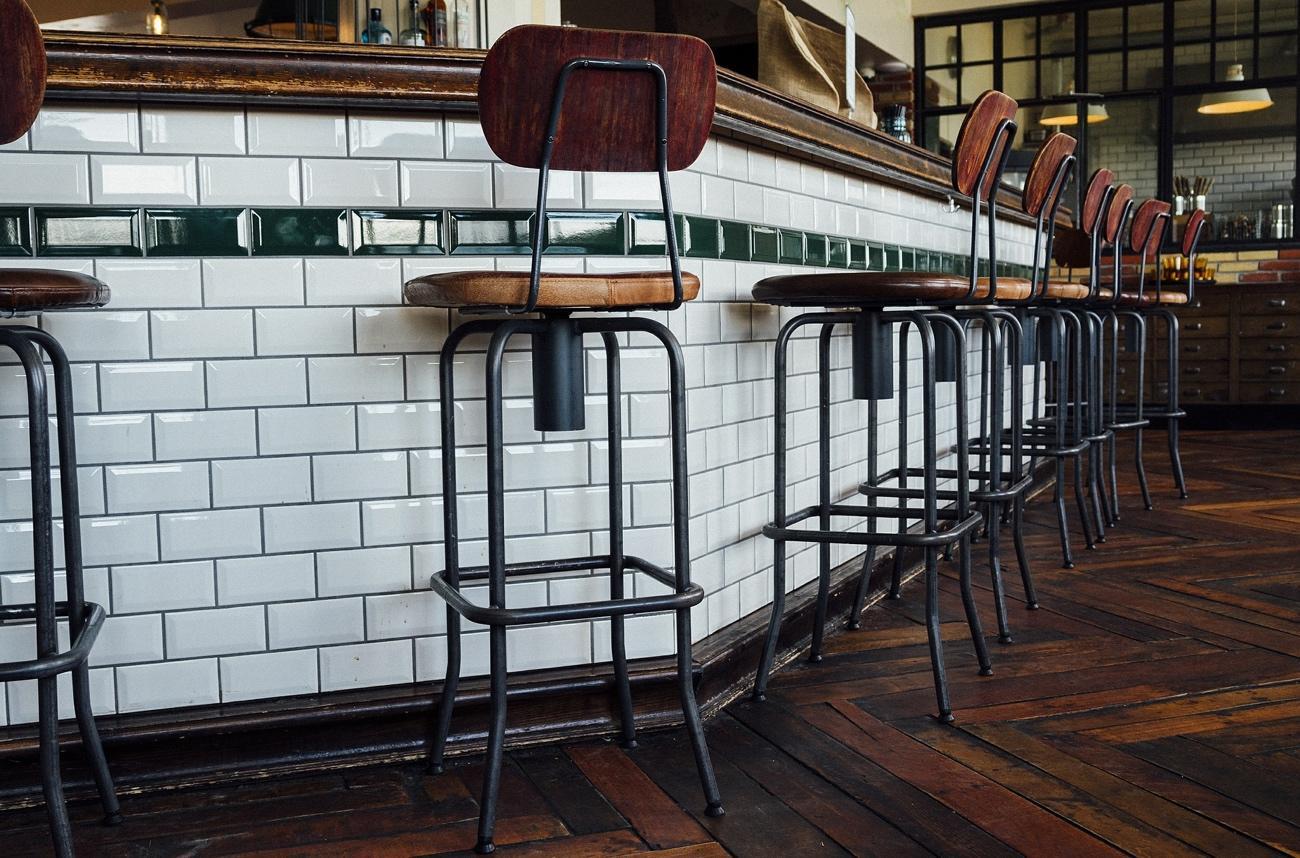 Decoración para cafeterías de estilo clásico