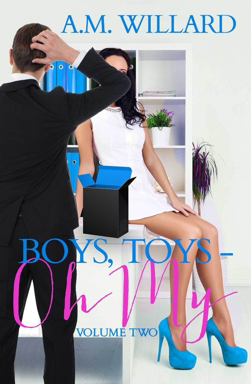 Boys, Toys – Oh My! Vol. 2 by A.M. Willard Cover Reveal