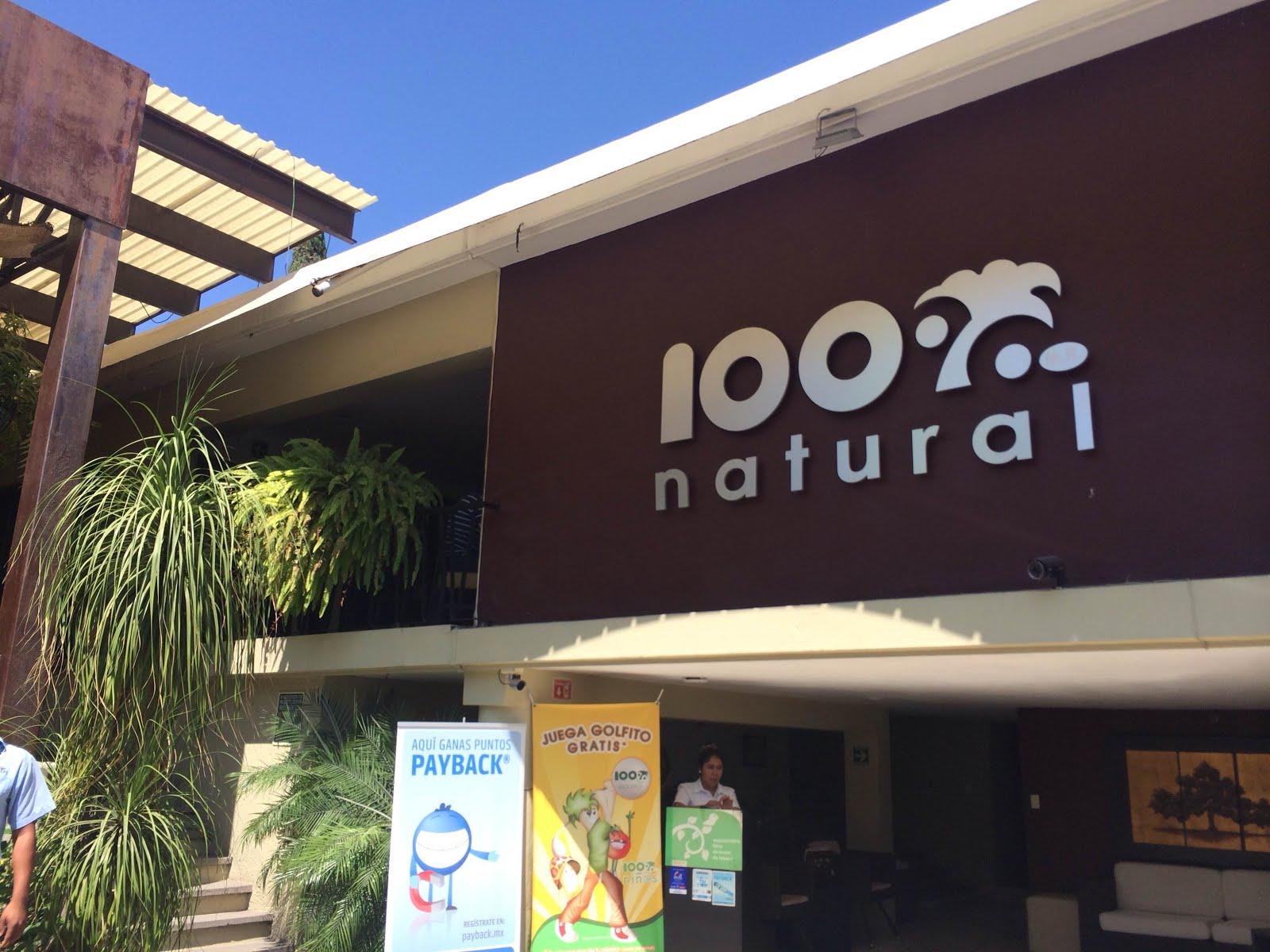Restaurante 100% Natural en México (Cuernavaca)