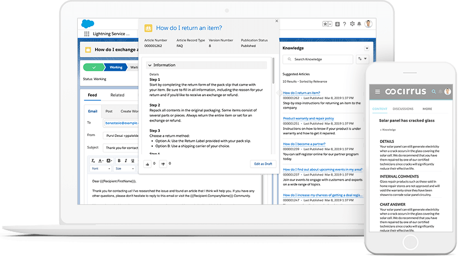 Salesforce KnowledgeBase