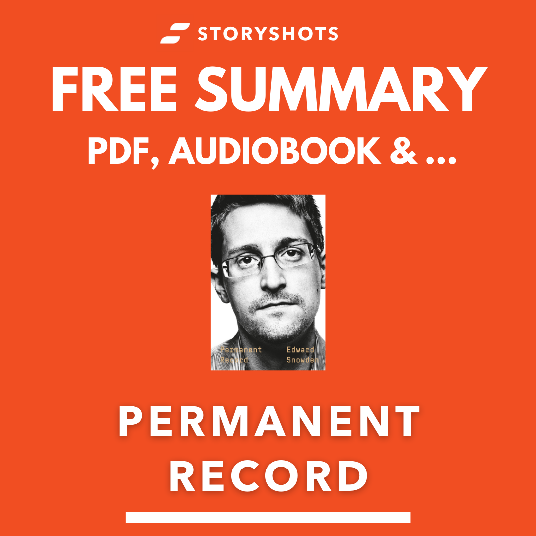 Permanent Record PDF Summary by Edward Snowden