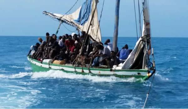 Image result for haitian boat people photos