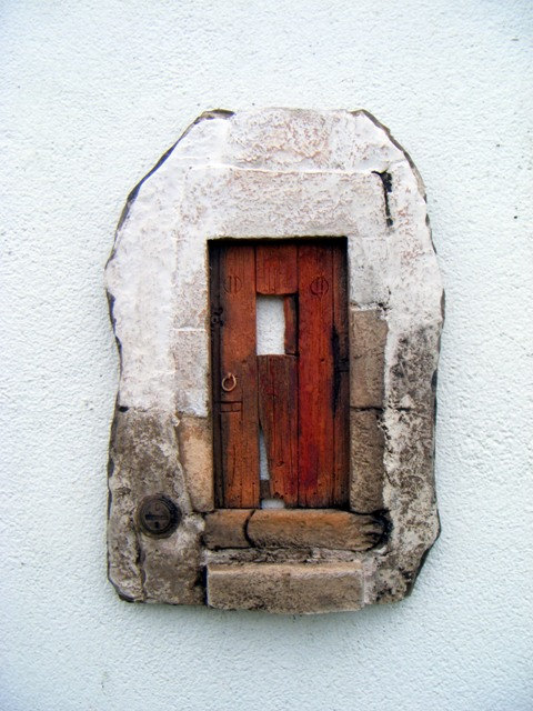 Typical portuguese Ceramic Door by  The Nature of Clay