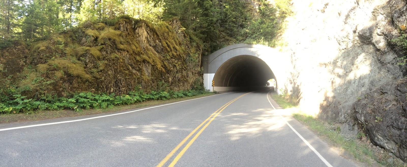 Tunnels on Hurricane Ridge Road