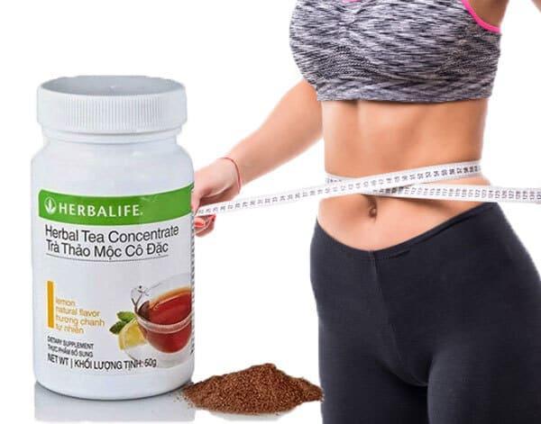Uống trà thảo mộc Herbalife có giảm cân không?