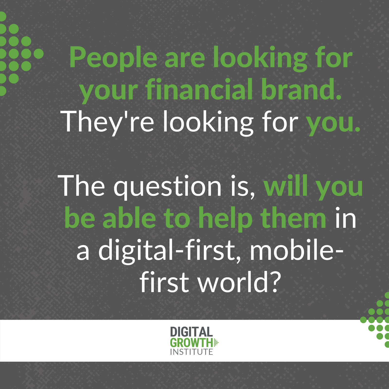 Helping consumers in a digital-first world
