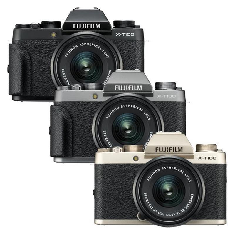 Fuji Camera X-T100 Kit การออกแบบกล้องคลาสสิคแบบเท่ๆ มาพร้อมกับเลนส์ซูมไฟฟ้า
