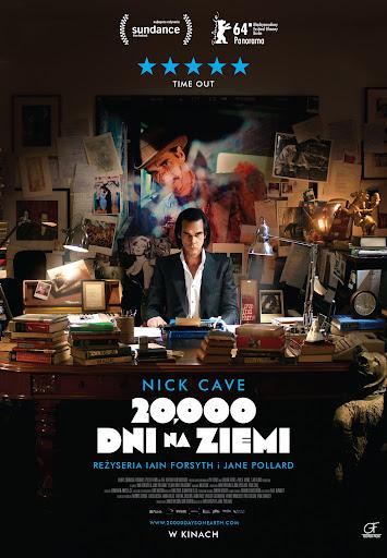 Polski plakat filmu '20 000 Dni Na Ziemi'