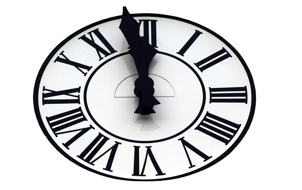 Clock, Clock Face, Time, ...