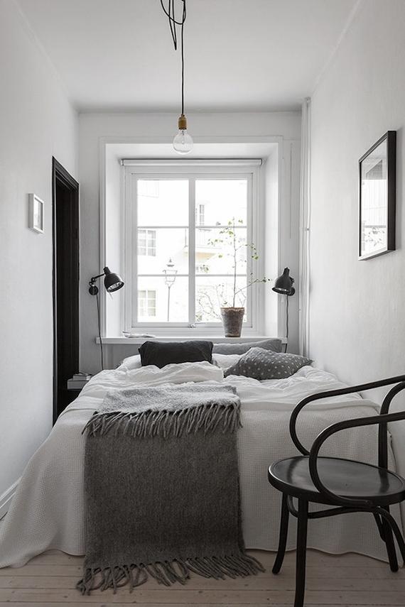 Inspirasi kamar tidur Scandinavian - source: myparadissi.com