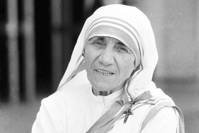 Mother Teresa 1980. Credit: L'Osservatore Romano.