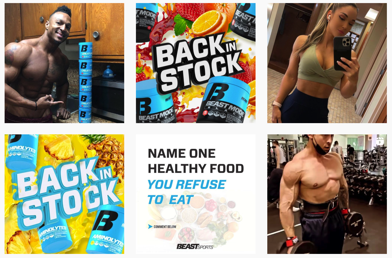 Beast Sports Nutrition | Fitness Influencer Programs Featured on Afluencer
