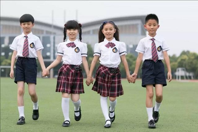 Đồng phục học sinh cấp 1 đẹp