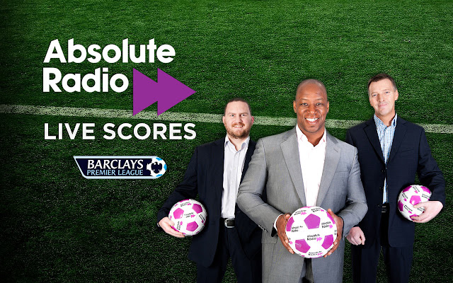 Absolute Radio Live Scores chrome extension