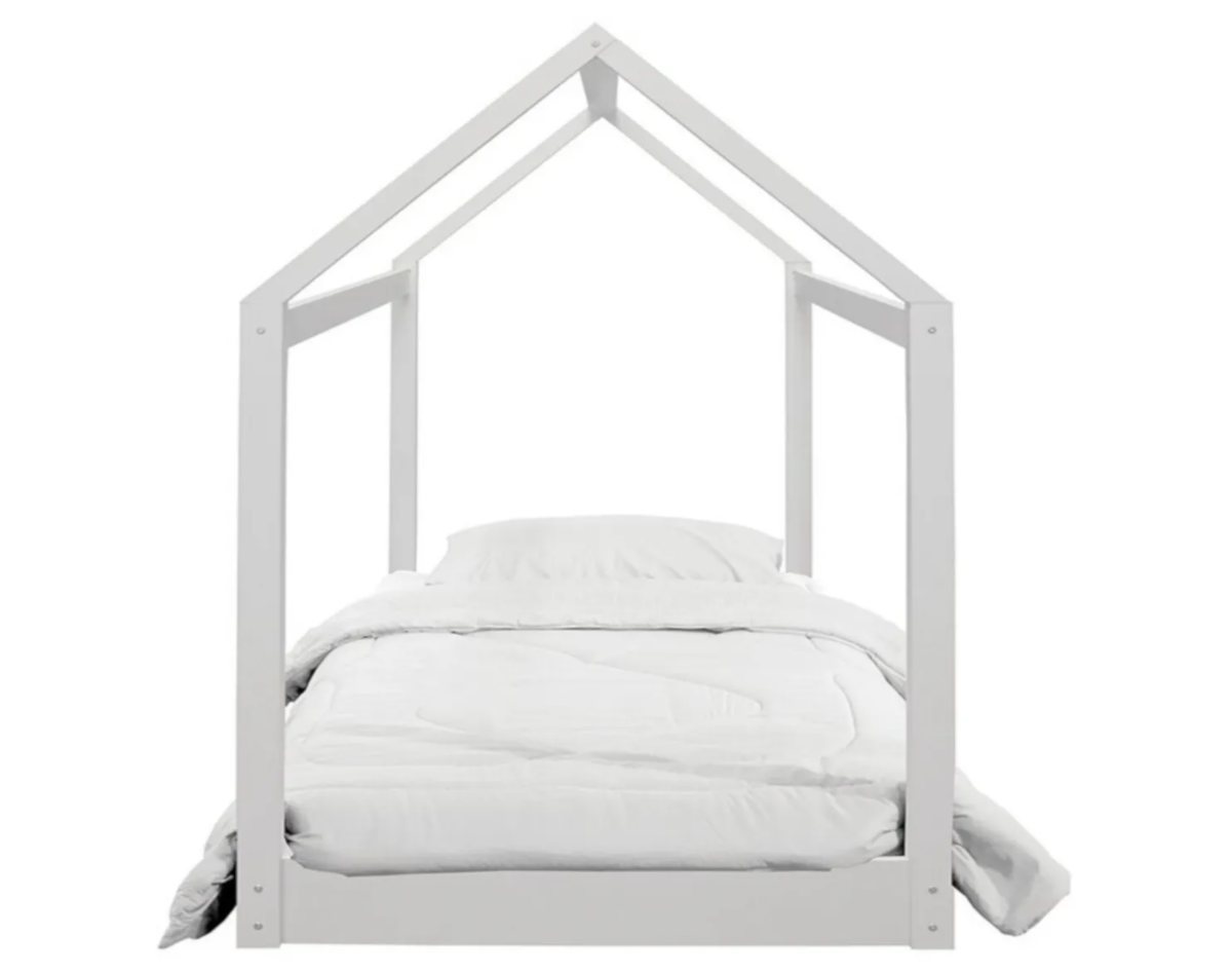 bed frame with wooden frame