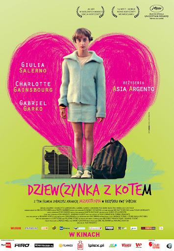 Polski plakat filmu 'Dziewczynka Z Kotem'