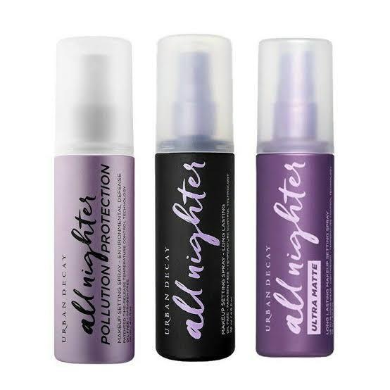 7. URBAN DECAY All Nighter Setting Spray 02