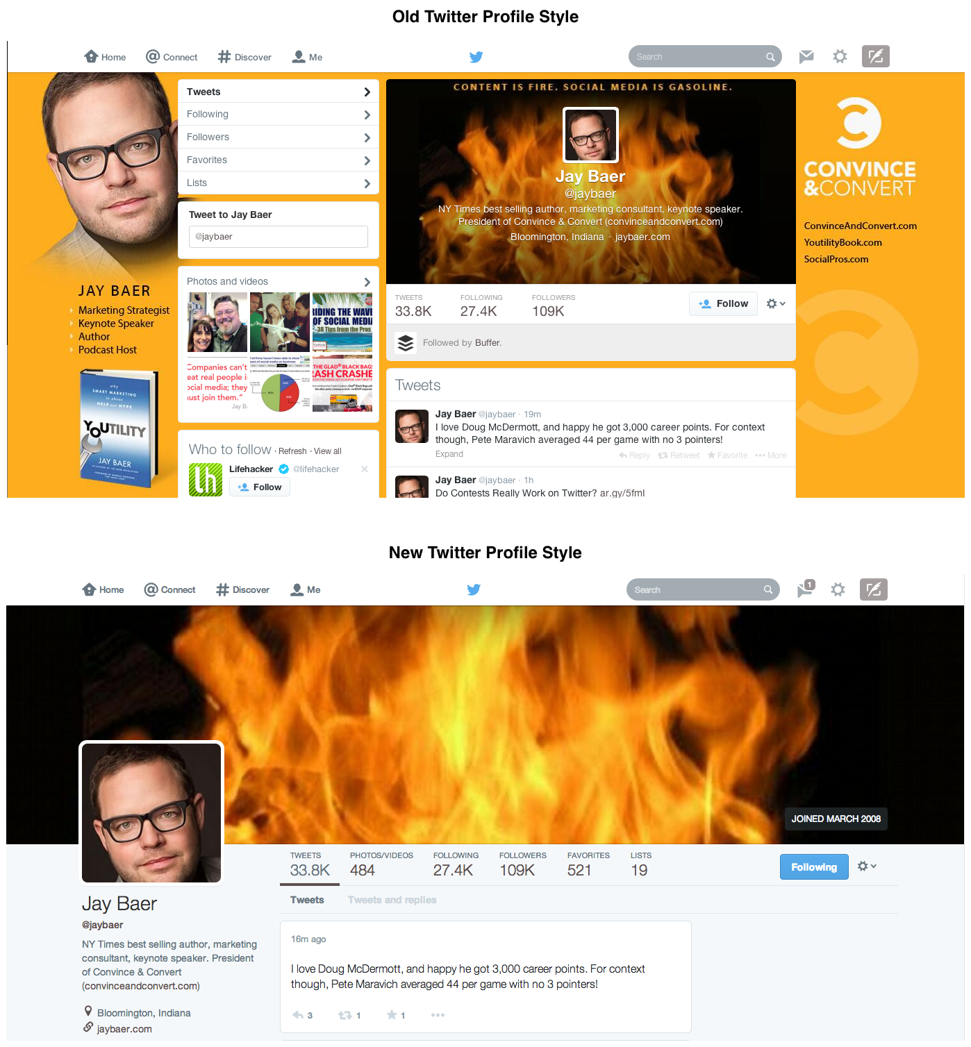 What Twitters New Layout Has to Do With Your Digital Elevator Pitch
