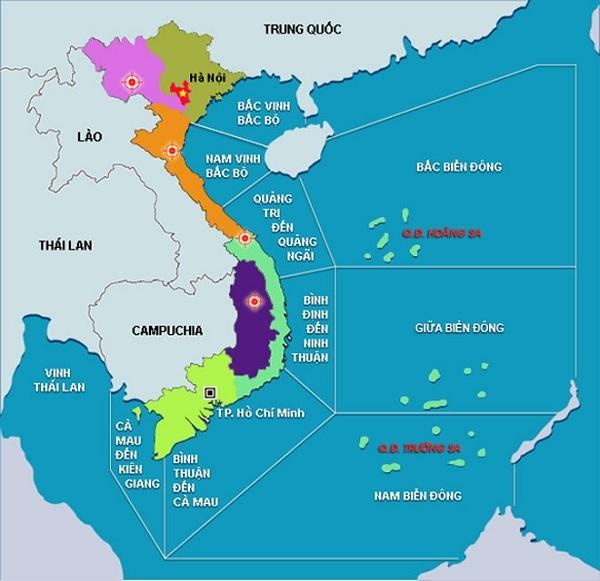 Việt Nam sở hữu vị trí địa lí mang tính chiến lược cao