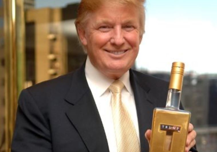 Let's toast the Feds New Marijuana Policy with Trump Vodka?