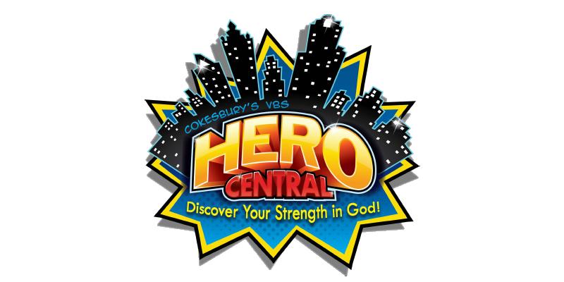 Hero Central VBS 2017 logo