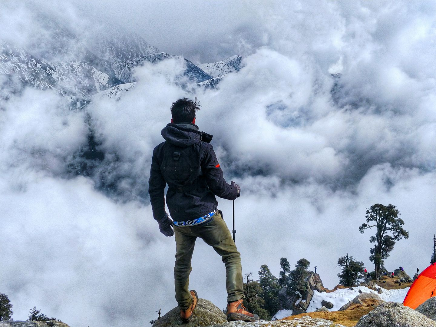 Triund Snowline Trek - Weekend Trip From Delhi