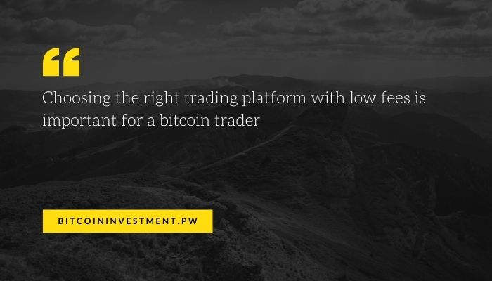 the right exchange for a bitcoin trader