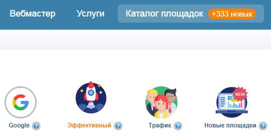 обновление каталога Миралинкс Miralinks новые площадки в системе