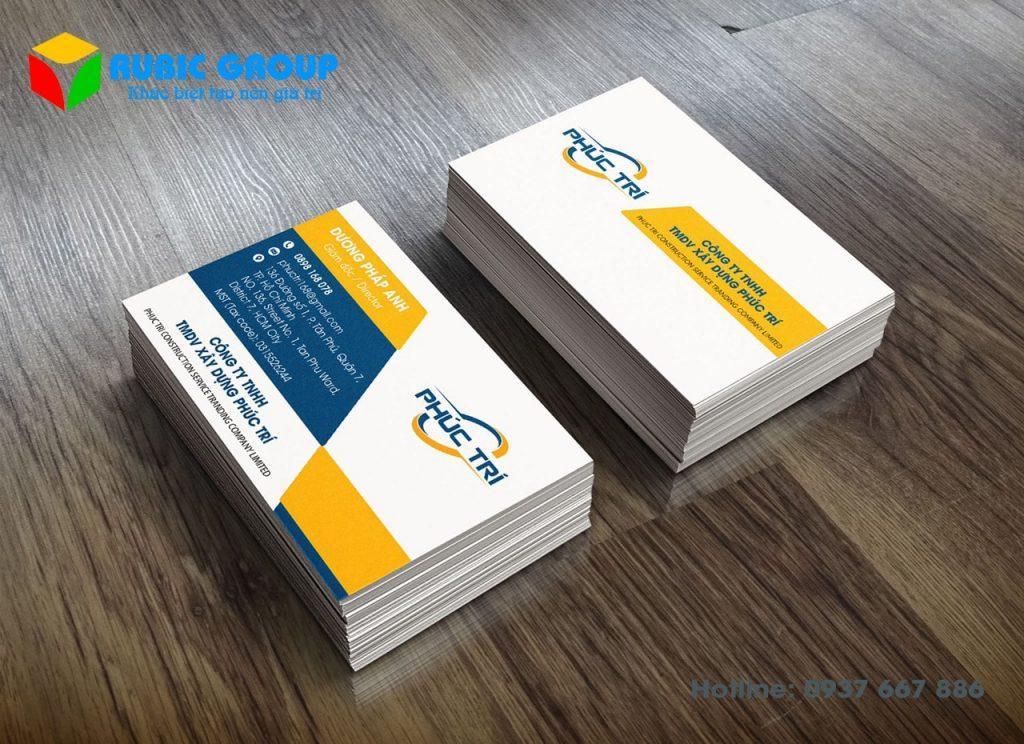 Sản phẩm card được thiết kế tại Rubic Group