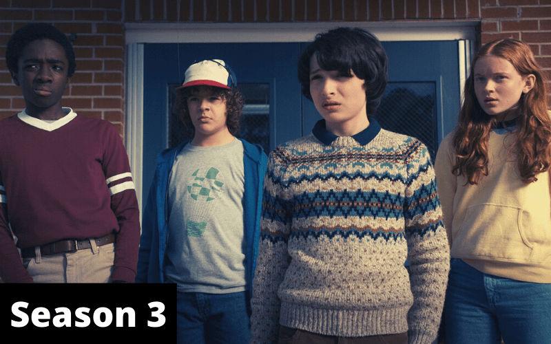 Index of Stranger Things Season 3
