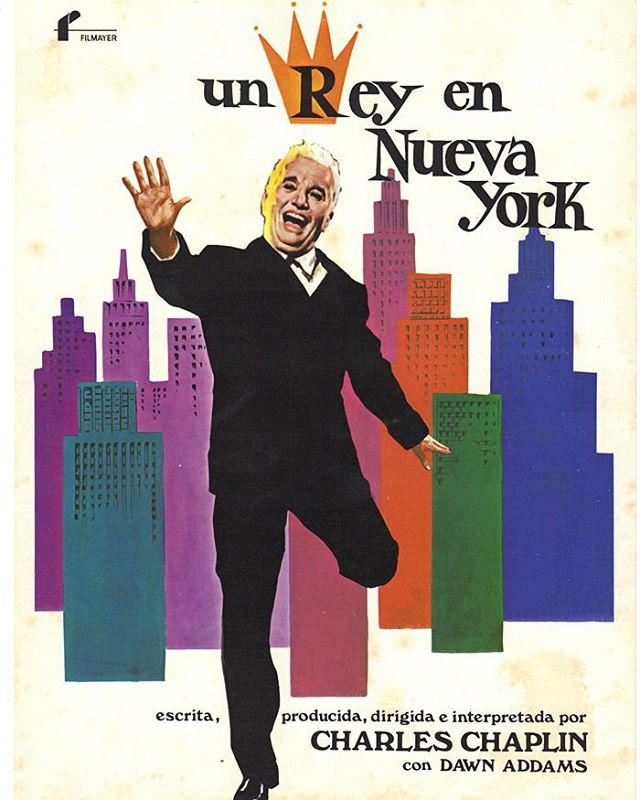 Un rey en Nueva York (1957, Charles Chaplin)