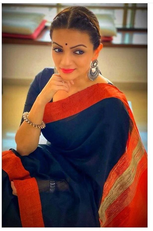 Prachee shah Paandya in saree