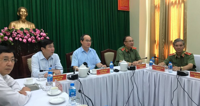 Thiếu tướng Phan Anh Minh, Phó Giám đốc Công an thành phố Hồ Chí Minh