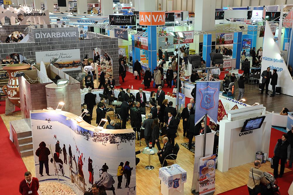 East Mediterranean International Tourism and Travel Exhibition – Istanbul, Turkey January 31-February 3, 2019; January 30-February 2, 2020