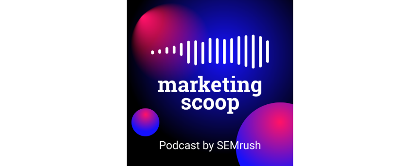 Marketing Scoop Podcast Podcasts logo