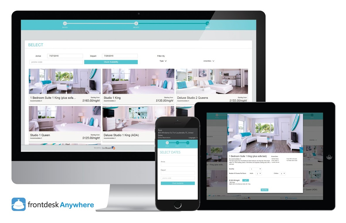 Frontdesk Anywhere Announces New Responsive Online Booking
