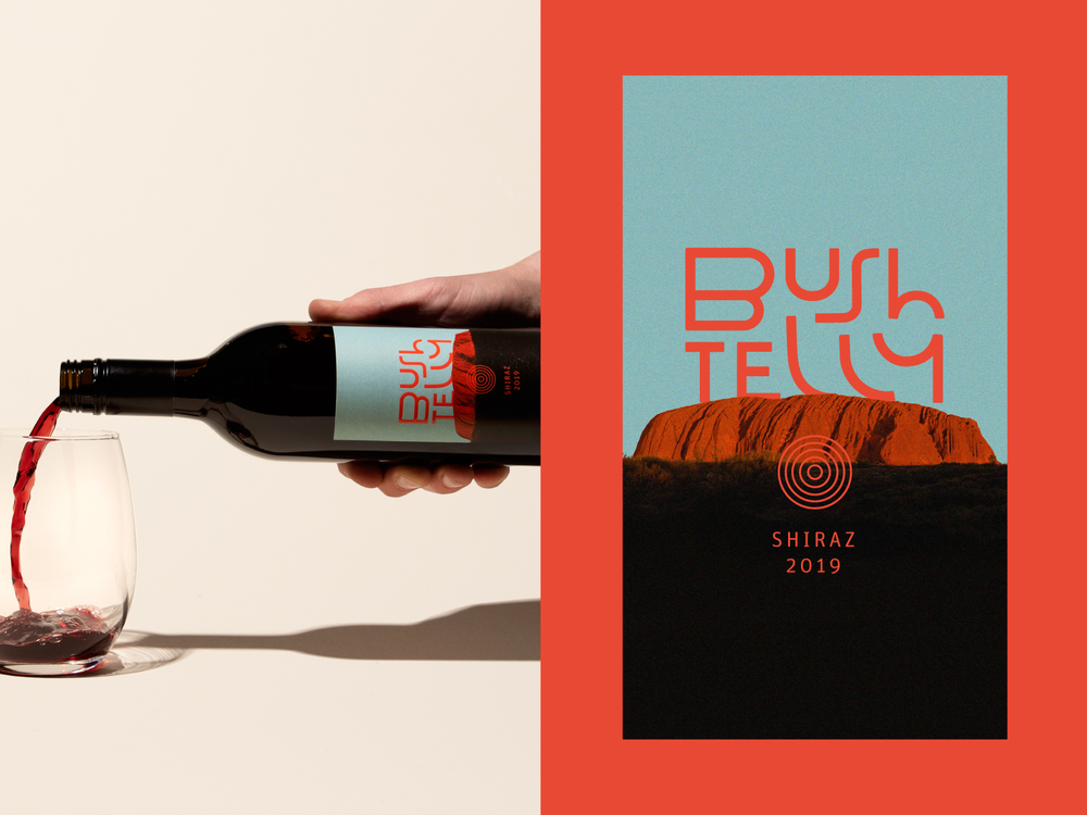 Bueshtelly Wine Label Design