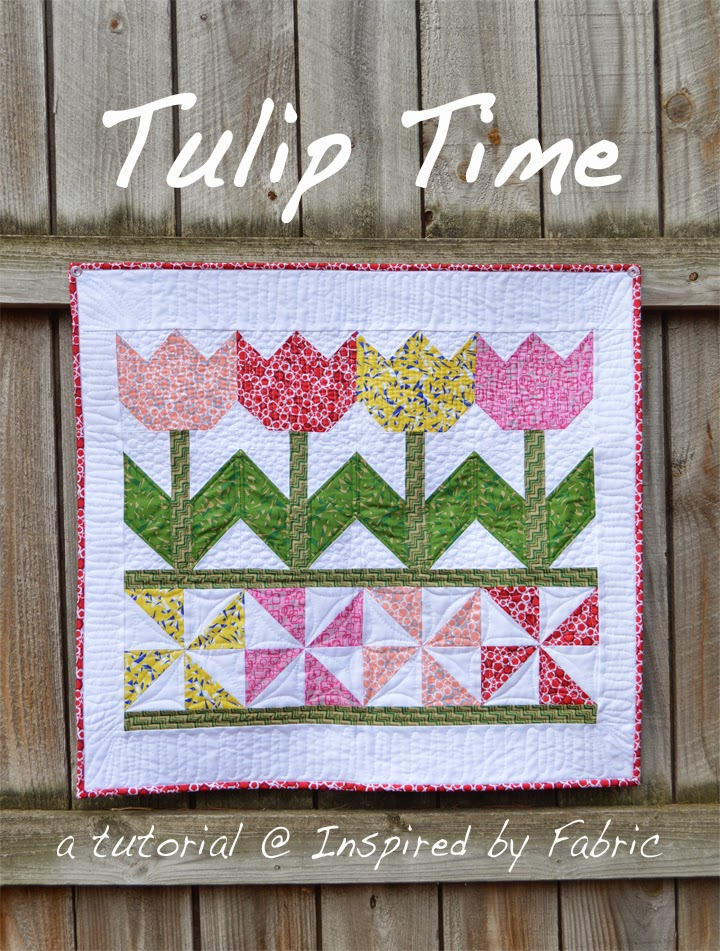 tulip time wall pattern