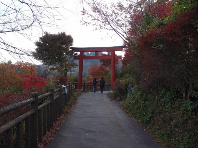 Mount Mitake Autumn Koyo