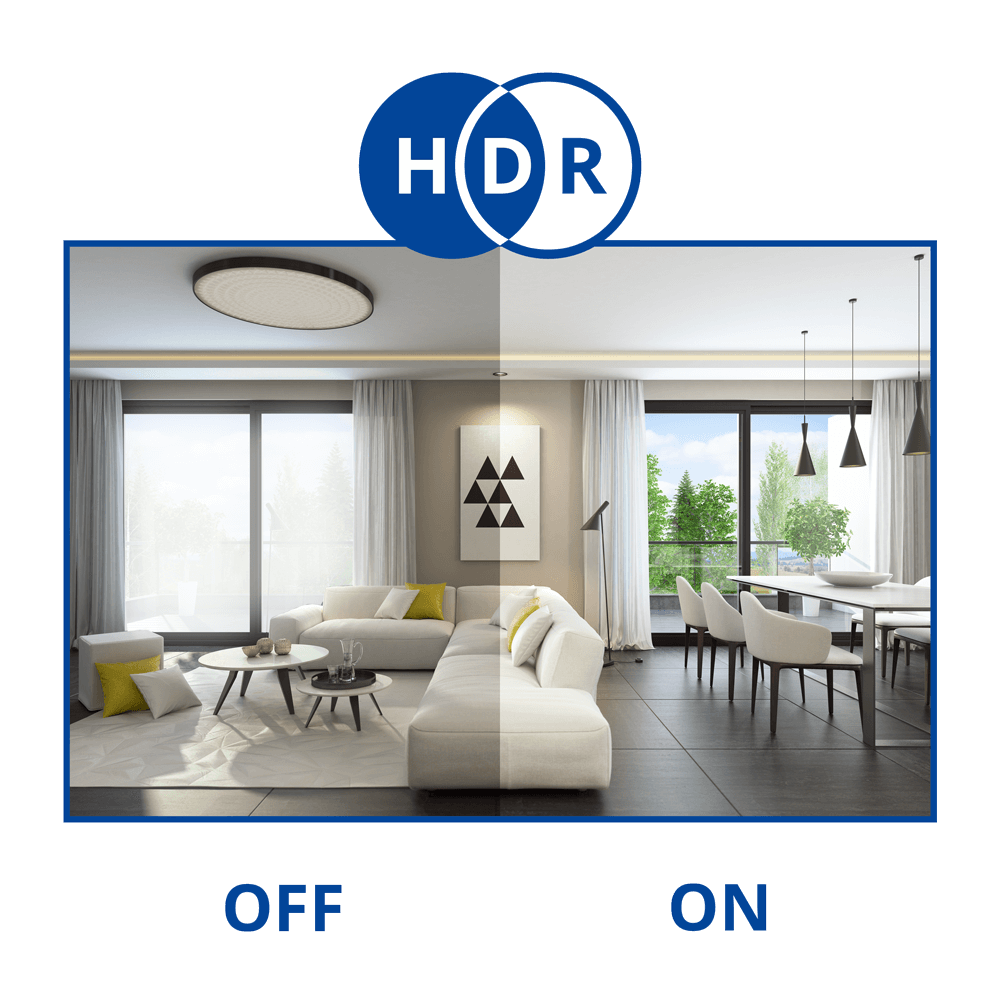 HDR security camera