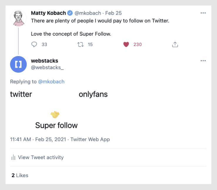 Webstacks responds to Matthew Kobach, a prominent Social Media guru.