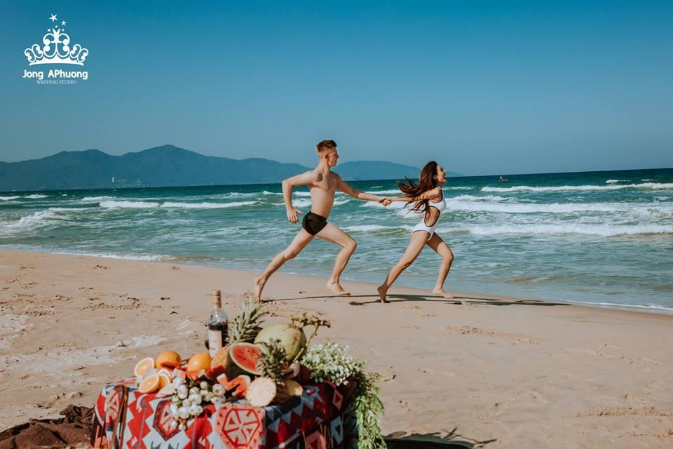 Biển Đà Nẵng chụp ảnh cưới và Studio chụp ảnh cưới uy tín tại Đà Nẵng