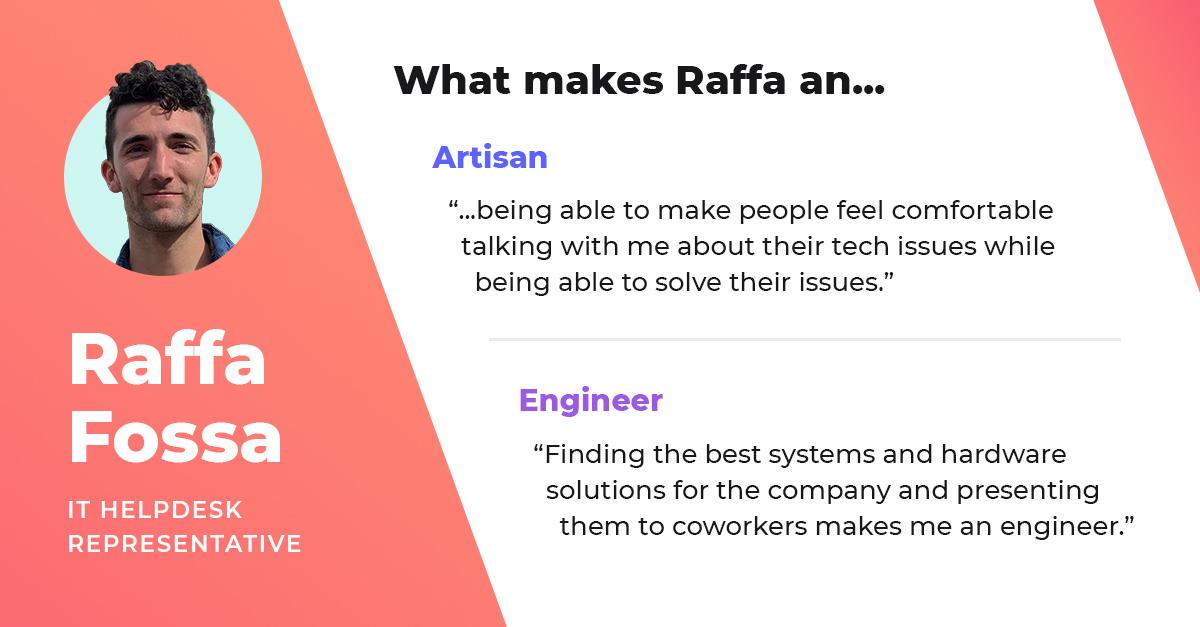 raffa fossa it helpdesk representative