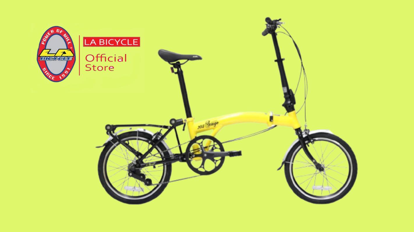 3. LA Bicycle Folding Bike รุ่น NEO STAGE 203