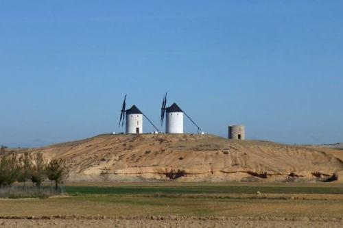 Tembleque Windmills, known as the Gate of La Mancha